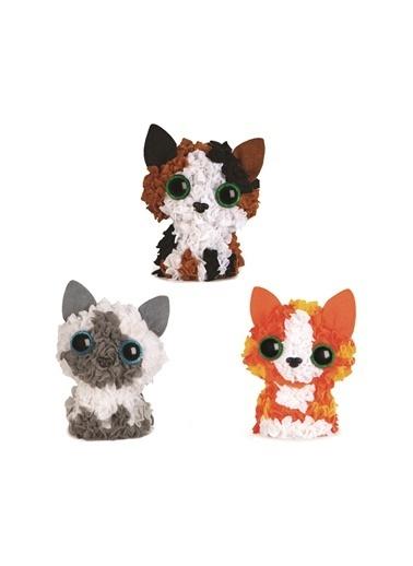 Orb Factory Orb factory Plush Craft Renkli 3D Kedi Festivali Tamı Renkli